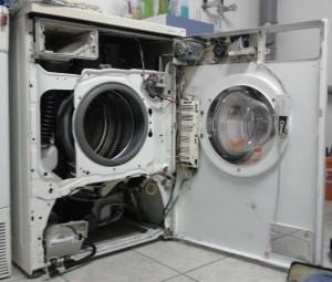 Maschine offen