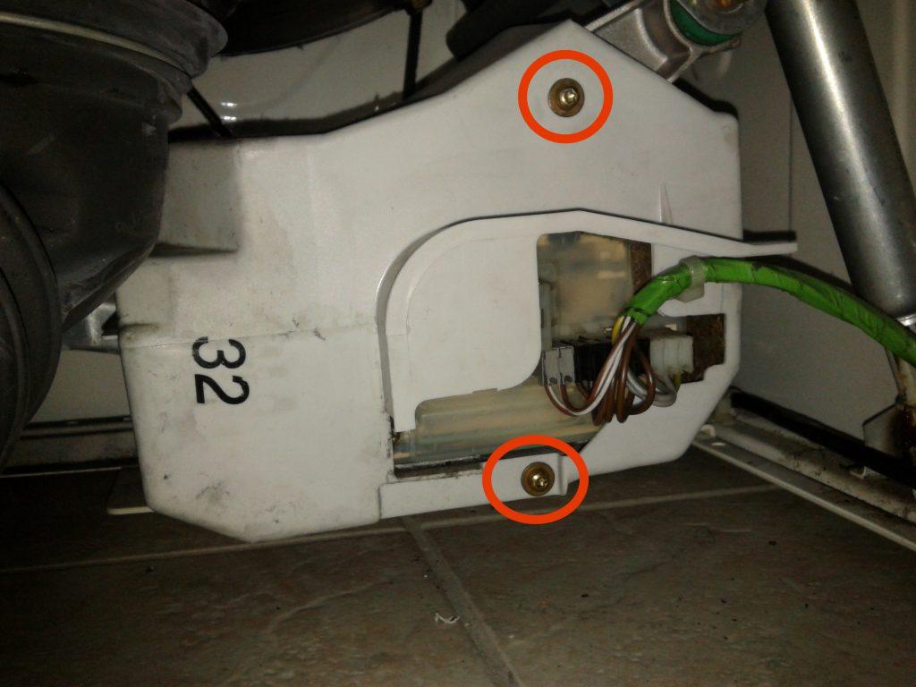 ein see unter unserer miele w698 waschmaschine bastel reparatur blog. Black Bedroom Furniture Sets. Home Design Ideas