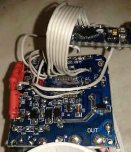 Arduino eingebaut