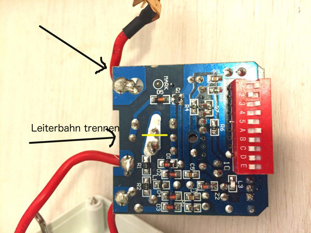 Reichweite einer Elro AB440S Funksteckdose erhöhen & Umbau auf einen ...