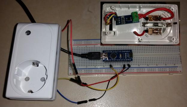 Genaue Strommessung mit dem Arduino und dem ACS712 Hall-Sensor