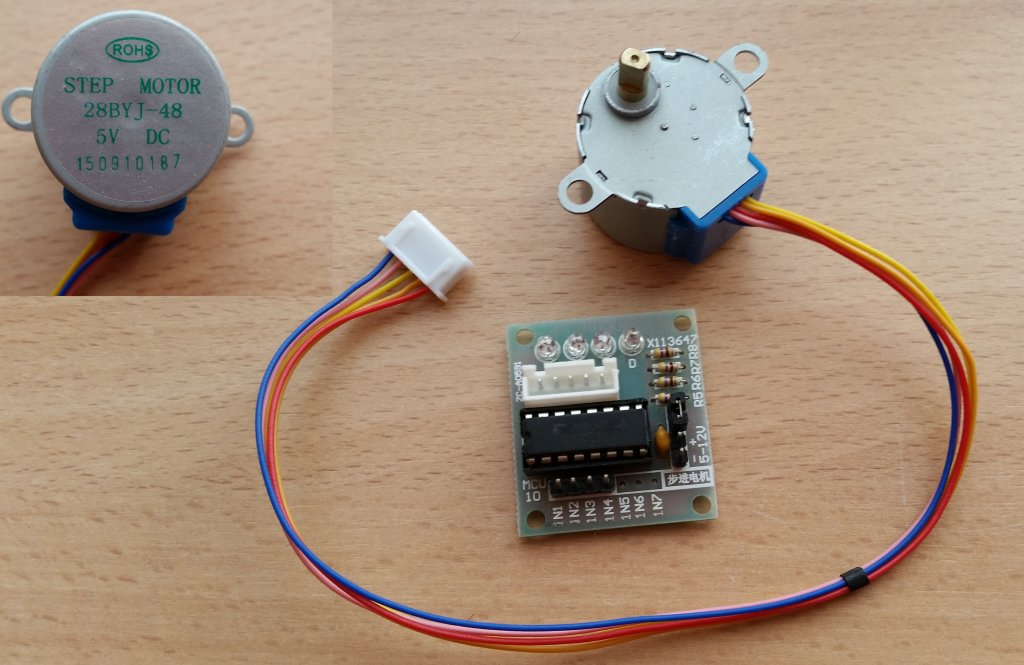 Stepper Motor Arduino Uln2003 Beaglebone Stepping Out