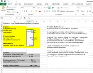 Excel_Membrandruckgefaess